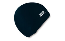 Zoggs Silicone Cap Standard schwarz